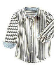 Рубашка в полоску  Crazy8 (США)  (Размер S (5-6 лет)