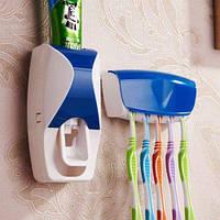 Автоматический дозатор для зубной пасты+подставка для зубных щеток