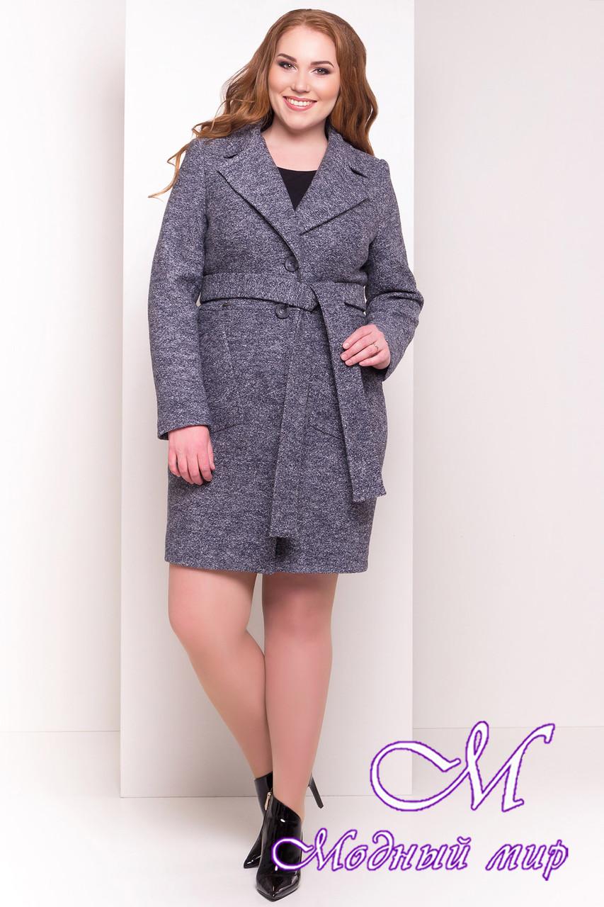 Красивое весеннее пальто больших размеров (р. XL, XXL, XXXL) арт. Габриэлла Донна 4554 - 21941
