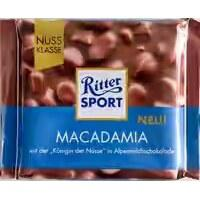 Шоколад RITTER SPORT MACADAMIA ( з горіхом Макадамиа) Німеччина 100г