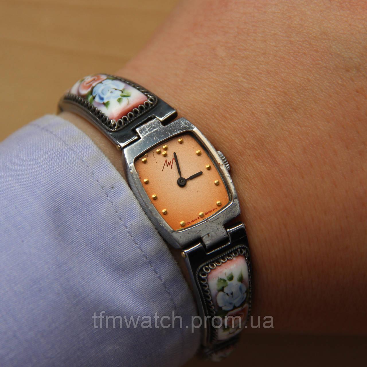 Луч женские наручные механические часы, фото 1