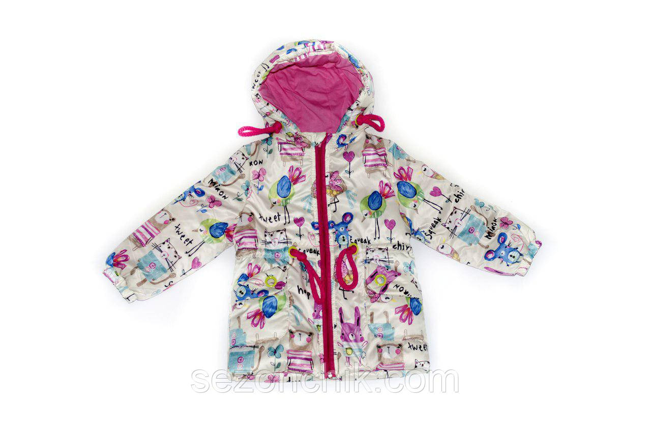 Весенняя куртка для девочки модная новинка