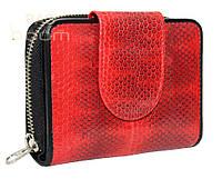 Женский кошелек из кожи морской змеи (SN 038 Fire red)