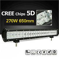 Led Bar 270W / 650mm/ 54 led / 29500 lm Premium
