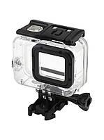 Аквабокс, водонепроницаемый бокс для экшн камер GoPro Hero 5, 6, 7 (до 45 метров) (код № XTGP340C)