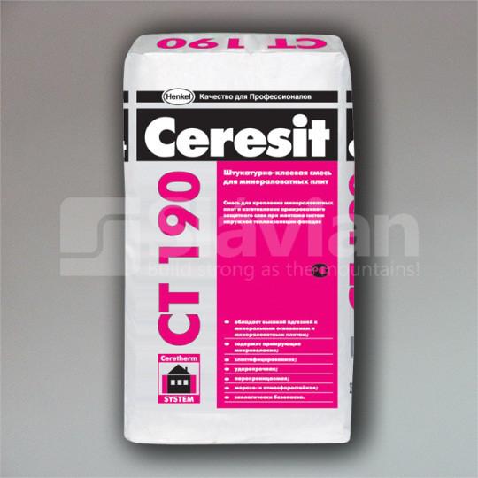 Смесь МВ Ceresit CT 190, 25кг