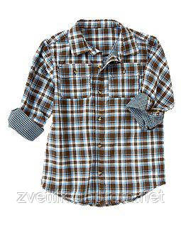 Рубашка в полоску  Crazy8 (США)  (Размер 4Т)