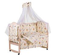 """Детское постельное белье в кроватку """"Винни Пух"""""""