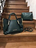 Женская шикарная сумка 2 в 1 (расцветки), фото 1