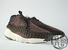 Мужские кроссовки Nike Air Footscape Woven Chukka Black/Black-Ivory 857874-001, фото 3