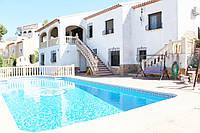 Недвижимость в Испании. Продается трехэтажная вилла в г.Адор,  Валенсия