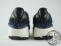 Мужские кроссовки Nike Air Footscape Woven Chukka SE Obsidian Black/Sail 857874-400, фото 2