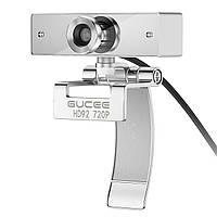 Веб-камера с микрофоном iRush 720P HD GUCEE HD92 USB для скайпа видеосвязи звонков фото