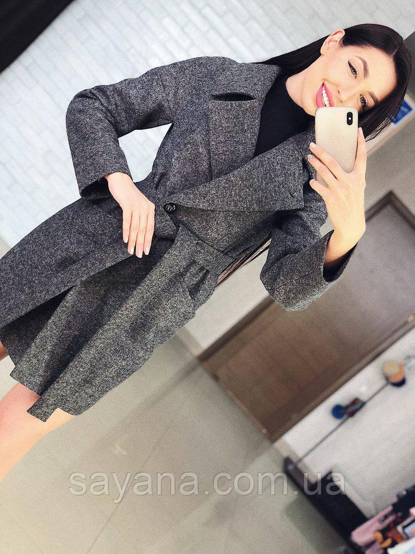 """Женское пальто-трансформер """"Lyalya"""" в расцветках, р-р 42-50. Т-2-0218"""