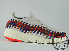 Женские кроссовки Nike Air Footscape Woven White Bone/Rainbow 874892-002, фото 2