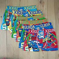 Трусы боксёры для мальчика HIGUIDA с рисунком  12 шт упаковка ТДП-2812