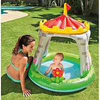 Детский надувной бассейн интекс 57122 (122x122 см.)