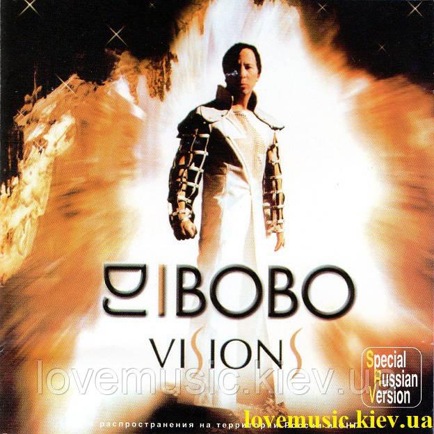 Музичний сд диск DJ BOBO Visions (2003) (audio cd)
