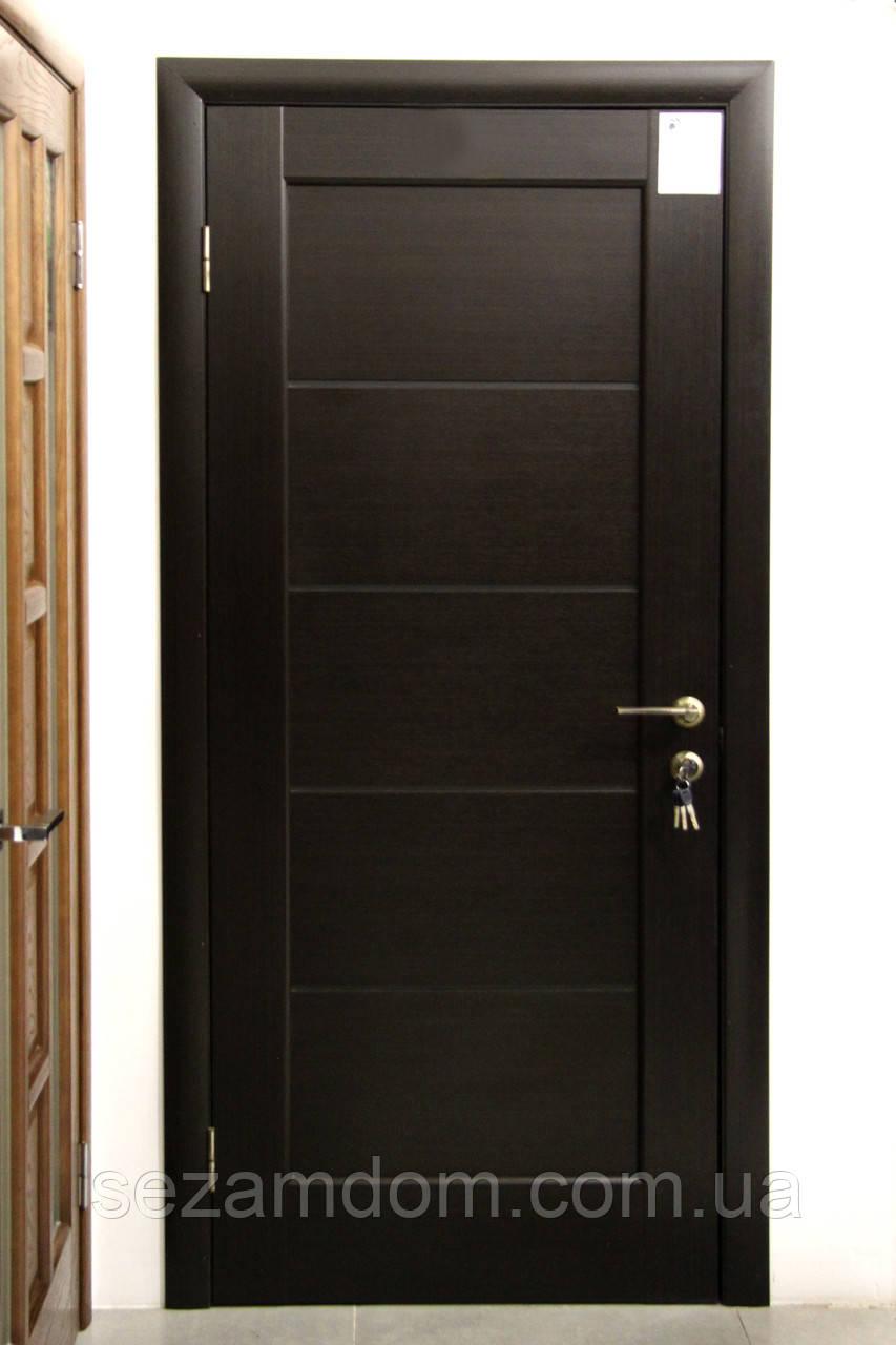 Дверь межкомнатная МИРА СО СТЕКЛОМ САТИН