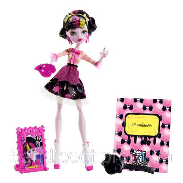 Кукла Дракулаура - Арт Класс  Monster High Art Class Draculaura Doll