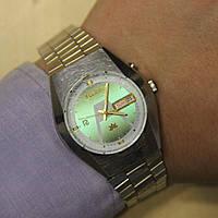 Ricoh Crystal мужские наручные японские часы , фото 1
