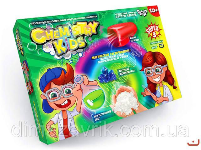 "Наборы для опытов ""Chemisty Kids"" Danko Toys"