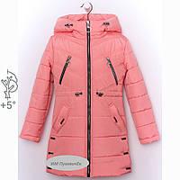 Красивая детская куртка для девочки демисезонная, фото 1
