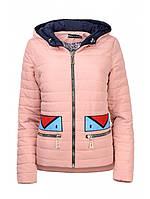 Демисезонную куртку молодёжную короткую жескую, фото 1