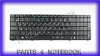 Клавиатура для ноутбука ASUS (K50, K51, K60, K61, K70, F52, P50, X5), rus, black (old design)