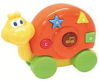 Музыкальная улитка со световыми эффектами, Дружелюбные животные, Navystar.