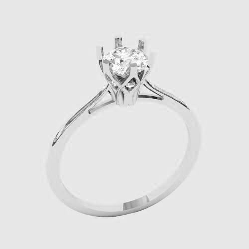 Кольцо  женское серебряное Совершенство КБ-1553