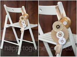 Раскладной деревянный стул для свадьбы аренда