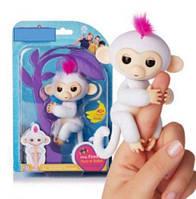 Интерактивная игрушка обезьянка  (около 40 реакций и более 40 звуков)  Fingermonkey