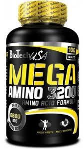 BioTech Аминокислоты Mega Amino 3200 (100 tabs)