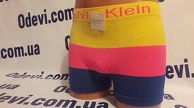 Трусы мужские Calvin Klein бесшовка копия, фото 3