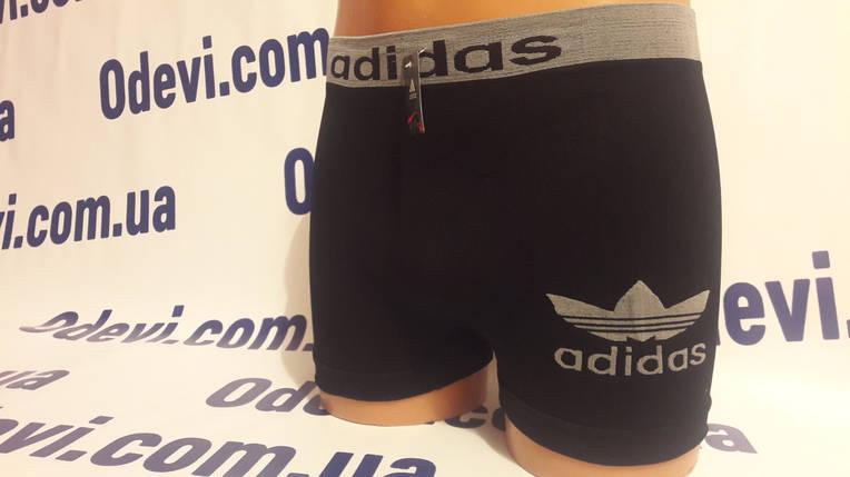 Трусы мужские Adidas бесшовка копия, фото 2