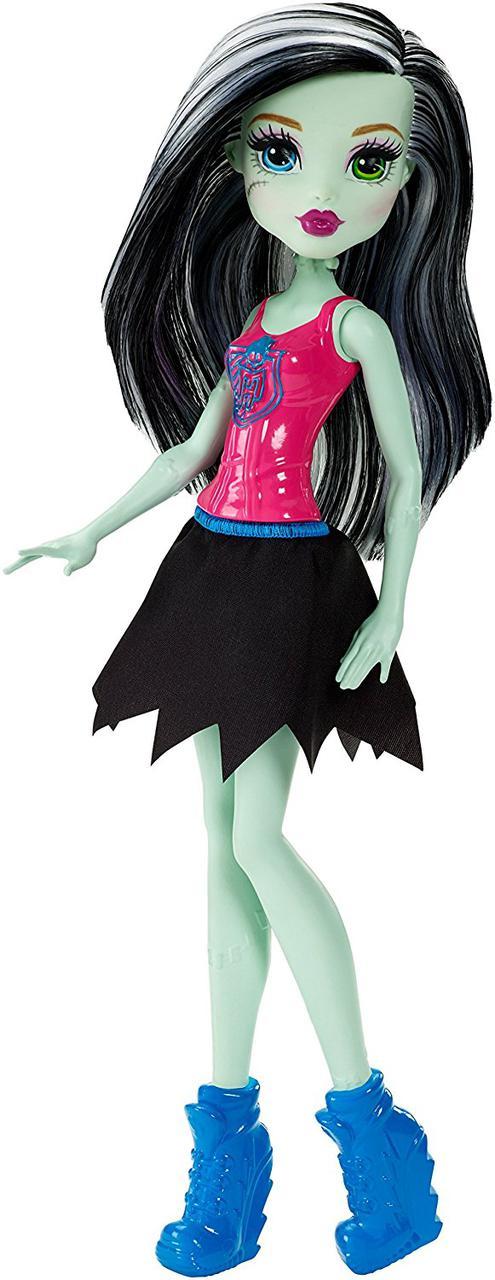 Кукла Монстер Хай Фрэнки Штейн Командный Дух Бюджетная Monster High Ghoul Spirit Frankie Stein Doll