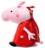 Пеппа-рюкзачок, мягкая игрушка 52 см. Peppa