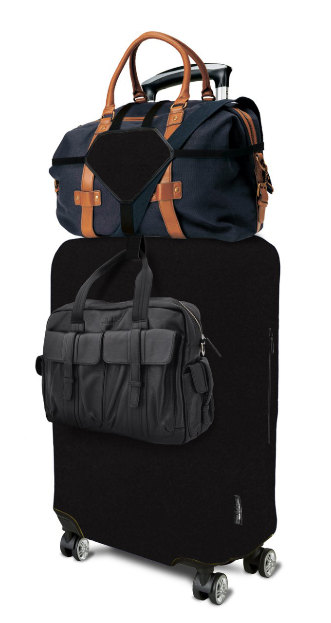 Ремни для ручной клади Coverbag черные