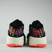 Мужские кроссовки Nike Air Footscape Woven черные топ реплика, фото 2