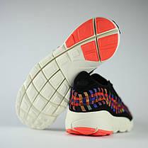 Мужские кроссовки Nike Air Footscape Woven черные топ реплика, фото 3