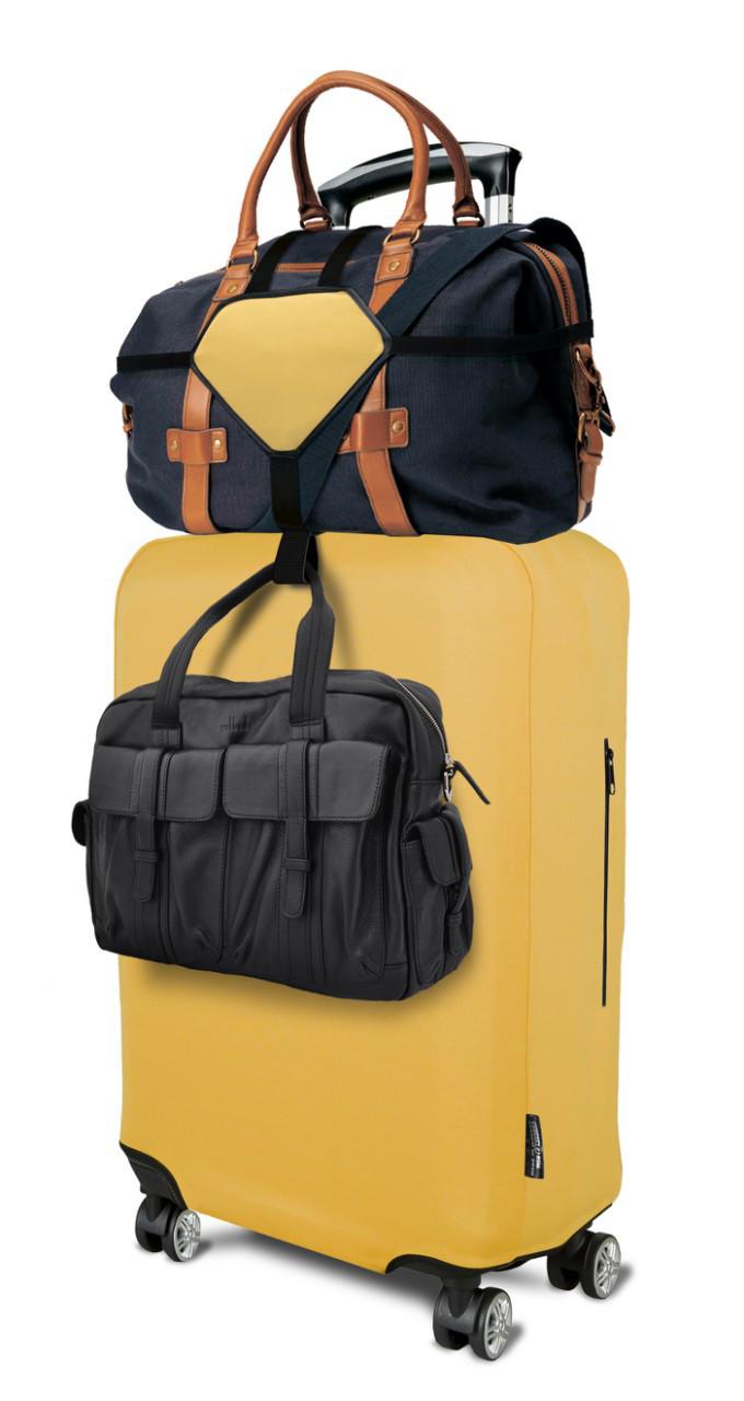 Ремни для ручной клади Coverbag желтые