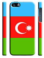 Чехол Флаг Азербайджан для iPhone 5/5s