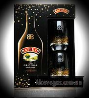Ликер Baileys Irish Cream 0,7L + 2 glas (Бейлиз + 2 стакана)