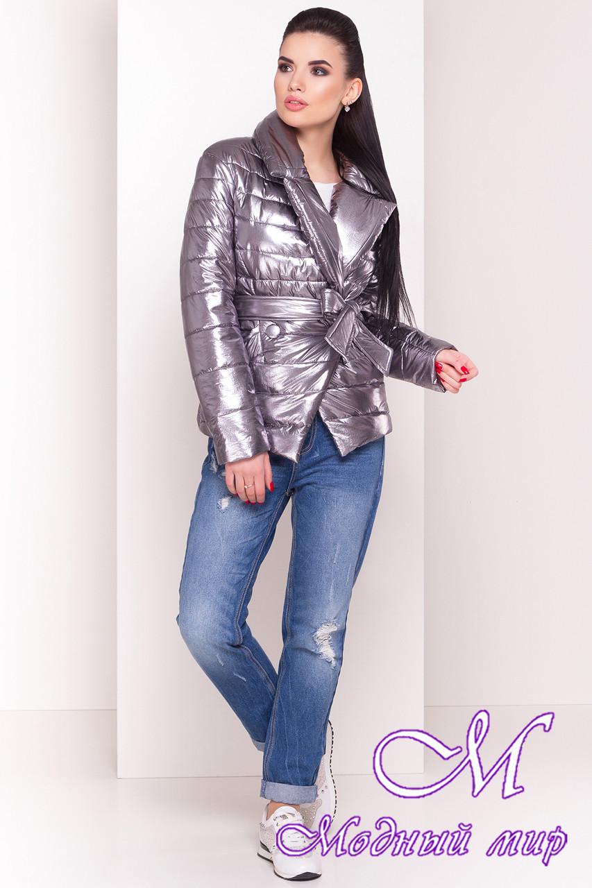 Женская демисезонная куртка фольга (р. XS, S, M, L) арт. Мириам 4562 - 21646