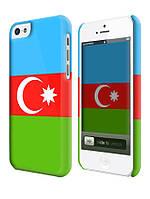 Чехол Флаг Азербайджан для iPhone 5с