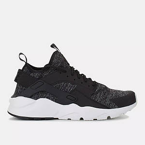 Найки мужские NIKE AIR HUARACHE ULTRA Drift Premium Black/White черные