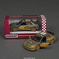 МАШИНКА KT 5328 WY, инерционная машинка, игрушка, игрушечная детская машинка, SUBARU IMPREZA WRC 2007
