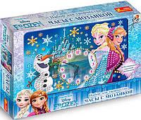 Часы со стрелками Frozen, Ranok Creative