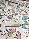 Детское постельное белье Единороги (100 % хлопок), фото 5